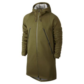 Jordan AJ Fleece Parka Men's Jacket, by Nike