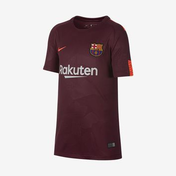 Barcelona 2017-18 Youth 3rd Jersey