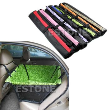 Pet Dog Car Single Seat Cover Safety Waterproof Hammock Mat Carpet New HXP001