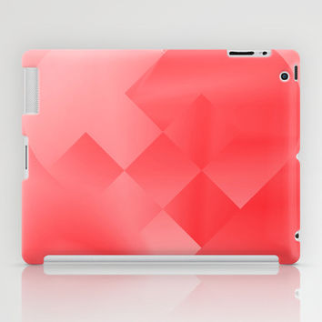Danish Heart Love iPad Case by Gréta Thórsdóttir #love #heart #girly #Christmas #red #scarlet #ombre #pattern #ipad