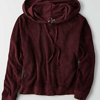 AEO Soft & Sexy Terry Hoodie, Plum