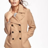 Wool-Blend Peacoat for Women | Old Navy