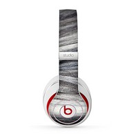 The Dark Colored Frizzy Texture Skin for the Beats by Dre Studio (2013+ Version) Headphones