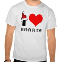 I Love Karate Design