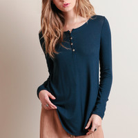 Home Free Henley Top