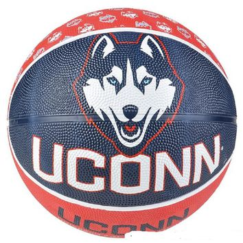 "9.5"" UCONN HUSKIES REGULATION BASKETBALL"