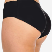 Butt Booster Underwear Black