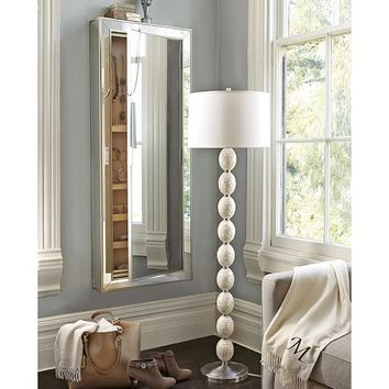 Park Mirrored Jewelry Closet From Pottery Barn