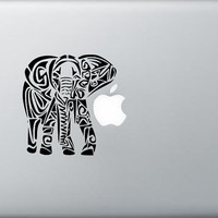 Elephant laptop macbook car window decal