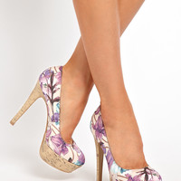 New Look EC Prairie Printed Heeled Shoes