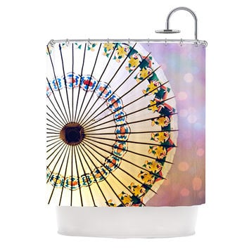 "Sylvia Cook ""Parasol"" Shower Curtain"