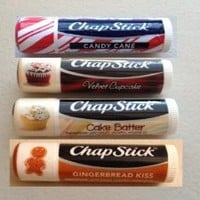 Chapstick Limited Edition Holiday ~ Set of 4