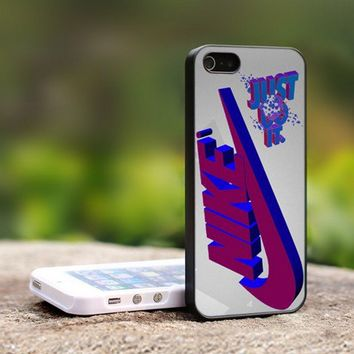 Nike Just Do It - For iPhone 5 Black Case Cover