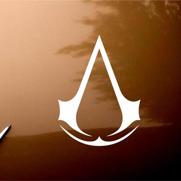 Assassin Creed Video Game LOGO Macbook Car Window iPad Notebook Decal Sticker