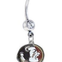 Florida State Seminoles FSU Sexy Belly Navel Ring