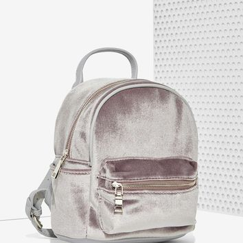 Margot Velvet Mini Backpack