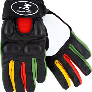Timeship Kody Noble Slide Gloves Large Black/Rasta