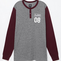 Primitive Baseball Long Sleeve Henley T-Shirt at PacSun.com