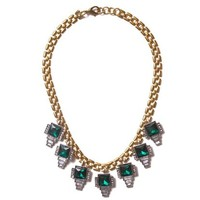 Emerald Statement Necklace