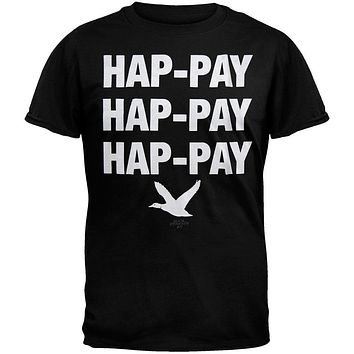 Duck Dynasty - Hap-Pay Hap-Pay Black T-Shirt