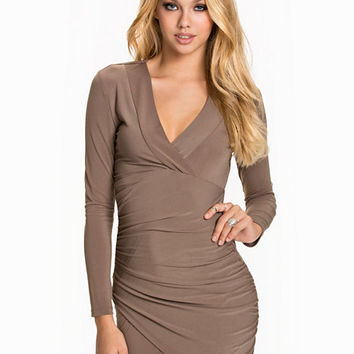 Twisted Bodycon Dress, NLY Trend