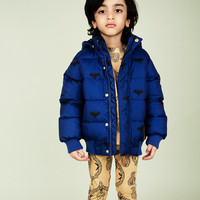Mini Rodini Puffy Jacket in Blue 1571011960