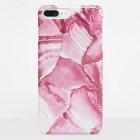 Missguided - Pink Marble Print iPhone 6 +/6S + Case