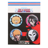 Bleach Character Faces Pin Set