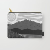Field of Lupins Carry-All Pouch by Creative Break