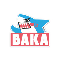Baka Shark Sticker - $6.00 : Fantastic Fam, Inc, Fashion. Family. Friends. Fun.