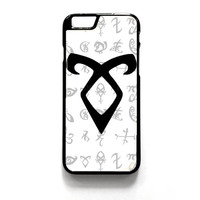Mortal Instrument Logo iPhone 4 4S 5 5S 5C 6 6 Plus , iPod 4 5  , Samsung Galaxy S3 S4 S5 Note 3 Note 4 , and HTC One X M7 M8 Case