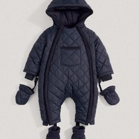Boys Navy Pramsuit