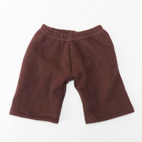 "Cabbage Patch Clothes HANDMADE Brown Pants 16"" kids doll boy / girl- fall autumn"