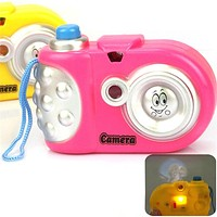 Cute Children's Kids Toy Camera New Baby Study Toy For Boys Kids Projection Educational Camera Toys for Children