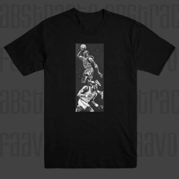 MJ Michael Jordan 23 Chicago Bulls MVP nba All Star T Shirt