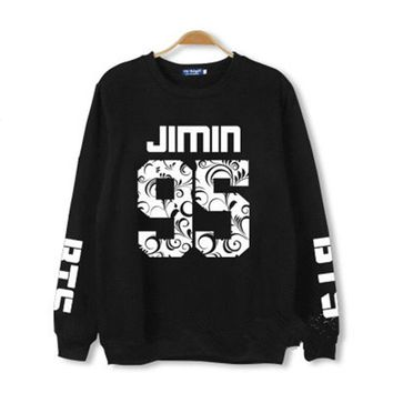 BTS Sweater Bangtan Boys In Bloom Unisex Hoodie Pullover Suga V Jimin Shirt