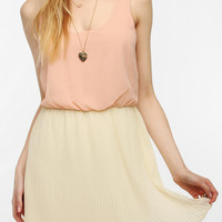 Urban Outfitters - Pins And Needles Chiffon Pleated Skirt Dress