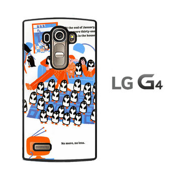365 penguins book Y1987 LG G4 Case