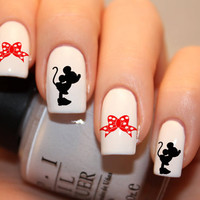 Minnie Mouse Nail Decals 36Ct.