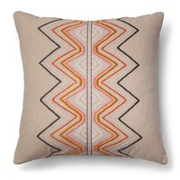 Brown Global Embroidered Throw Pillow - Threshold™ : Target