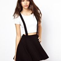 ASOS Ponte Skater Skirt with