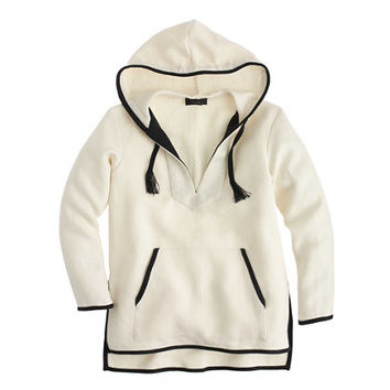 J.Crew Womens Collection Linen Baja Hoodie