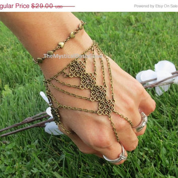 Sized Hand Bracelet, Hand Chain, Body Chain Jewelry, Tribal Bracelet, Festival, Bracelets, Body, Jewelry, Heart, Chain Bracelet, Ring Bracel