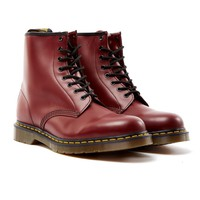 Dr Martens 8 Eye Classic Boot Red - New In at The Idle Man