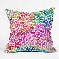 Garima Dhawan Rain 5 Outdoor Throw Pillow