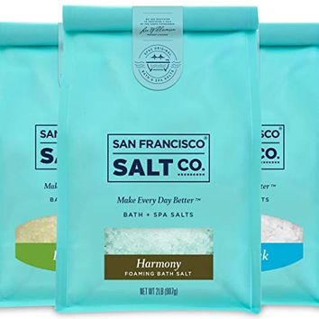 Therapeutic Luxury Bag Bundle - Detox Soak, Muscle Soak, Harmony Foaming Bath Salts
