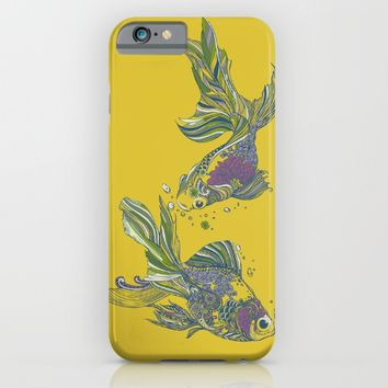Blooming in Deep iPhone & iPod Case by Huebucket