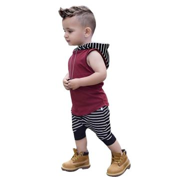 Baby Boy Striped Muscle 2pc. Outfit