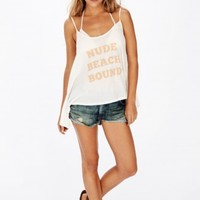 NUDE BEACH BOUND CANYON CAMI