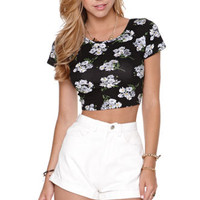Nollie Cropped Scoop Tee at PacSun.com
